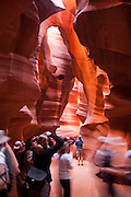 Upper Antelope Canyon, Slot Canyon, Page, AZ