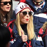Ivanka Trump Watches Bobsleigh Event - 25 Feb 2018