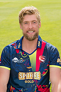 Calum Haggett of Kent  during the Kent County Cricket Club Headshots 2017 Press Day at the Spitfire Ground, Canterbury, United Kingdom on 31 March 2017. Photo by Martin Cole.