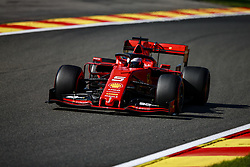 August 30, 2019, Spa-Francorchamps, Belgium: Motorsports: FIA Formula One World Championship 2019, Grand Prix of Belgium, ..#5 Sebastian Vettel (GER, Scuderia Ferrari Mission Winnow) (Credit Image: © Hoch Zwei via ZUMA Wire)