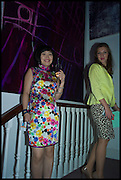 SHU ZHENG; LILIJA SITLIKA, Sotheby's Frieze week party. New Bond St. London. 15 October 2014.