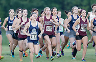 September 2, 2017: The Oklahoma Christian University Eagles women's cross country team participates in the UCO Land Run at Santa Fe High School in Edmond, OK.