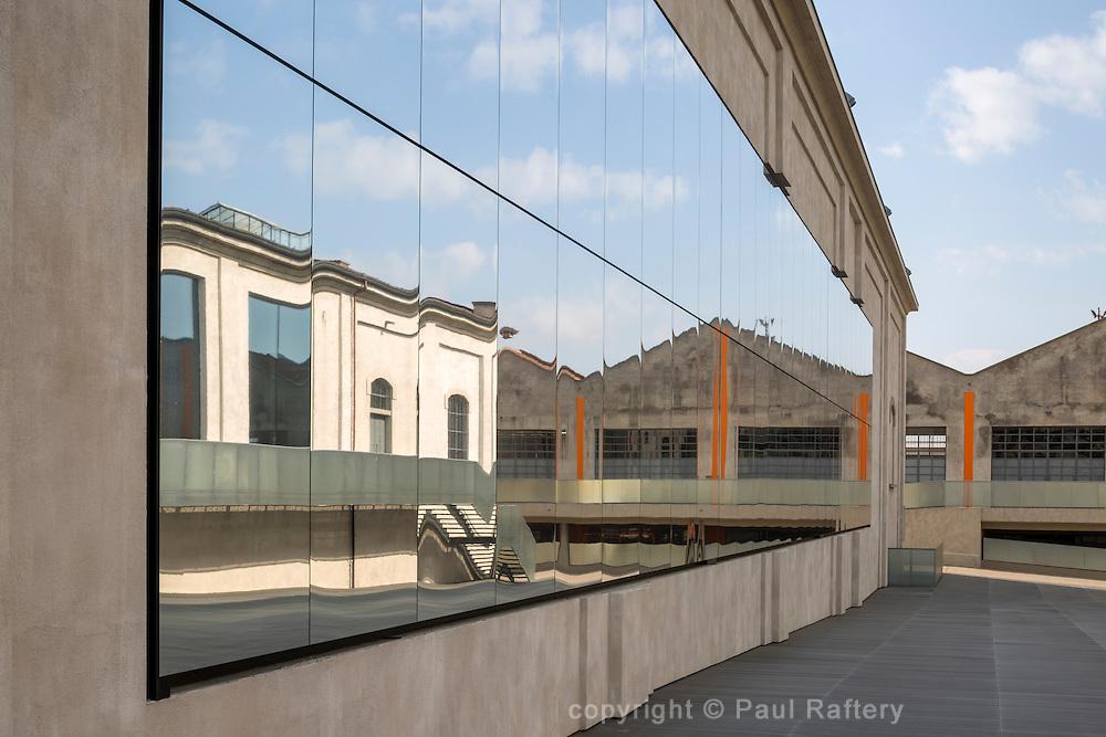 Prada Foundation, Milan. Architect OMA - Rem Koolhaas.