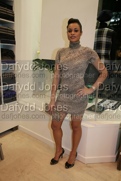 ANTONELLE ALEXIS, Eric Bompard Cashmere new store launch, 29 Kings Road, London. 9 October 2008 *** Local Caption *** -DO NOT ARCHIVE-© Copyright Photograph by Dafydd Jones. 248 Clapham Rd. London SW9 0PZ. Tel 0207 820 0771. www.dafjones.com.