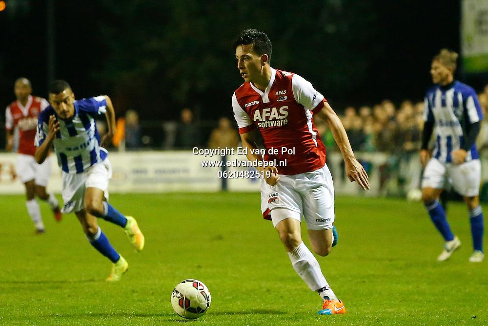 ECHT - 24-09-2014 - EVV - AZ, KNVB beker, tweede ronde,  in De Bandert complex, 0-1, AZ speler Thom Haye.