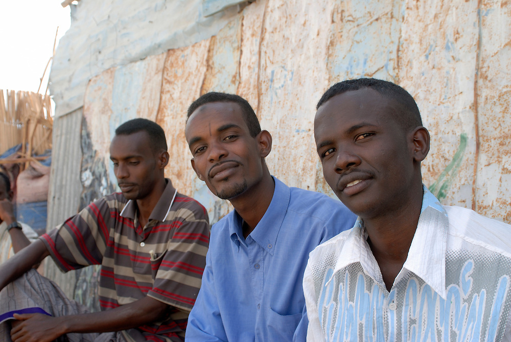 Group of young men,Djibouti