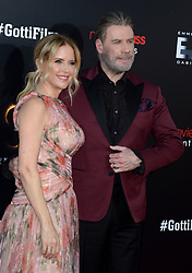 Kelly Preston and John Travolta attending the New York Premiere of 'Gotti' at SVA Theater on June 14, 2018 in New York City, NY, USA. Photo by Dennis Van Tine/ABACAPRESS.COM