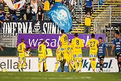 July 3, 2018 - Uppsala, SVERIGE - 180703 ... under fotbollsmatchen i Allsvenskan mellan Sirius och GIF Sundsvall den 3 juli 2018 i Uppsala  (Credit Image: © Tobias Sterner/Bildbyran via ZUMA Press)