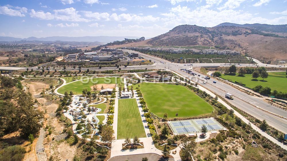 Rancho Mission Viejo Sendero Field Park Aerial