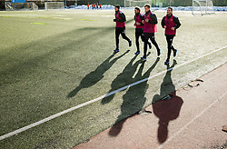 Players during first practice session of football club NK Maribor after winter holidays, on January 5, 2015 in Maribor, Slovenia.  Photo by Vid Ponikvar / Sportida