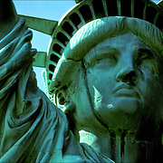 how does acid rain affect the statue of liberty