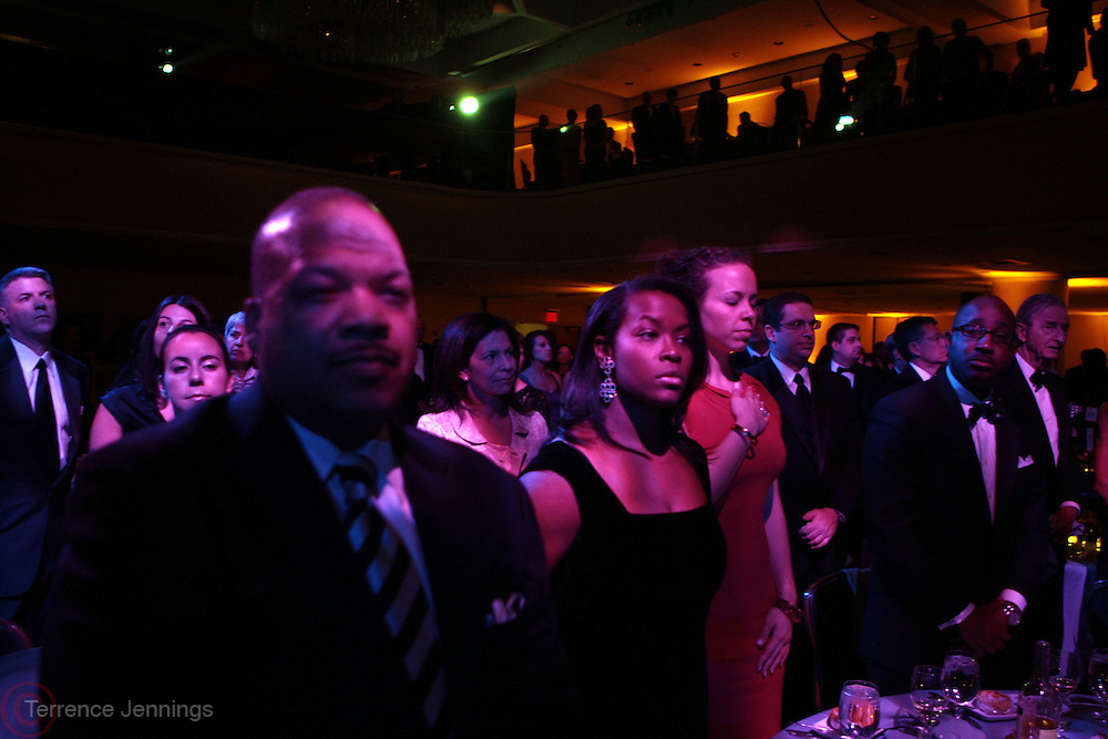 3 March 2011- New York, NY-  Audience at the UNCF ' A Mind is'  Gala held at the Marriott Marquis Hotel on March 3, 2011 in New York City. Photo Credit: Terrence Jennings