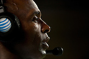 AUSTIN, TX - AUGUST 30:  Texas Longhorns head coach Charlie Strong looks on against the North Texas Mean Green on August 30, 2014 at Darrell K Royal-Texas Memorial Stadium in Austin, Texas.  (Photo by Cooper Neill/Getty Images) *** Local Caption *** Charlie Strong
