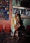 Fela Kuti in concert at the Shrine club - Lagos - 1978