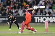 Lancashire Lightnings Steven Croft  during the Vitality T20 Blast North Group match between Lancashire Lightning and Leicestershire Foxes at the Emirates, Old Trafford, Manchester, United Kingdom on 30 August 2019.