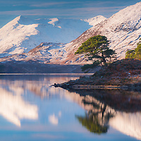 Loch Affric and Beinn Fhada from Affric lodge