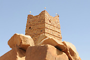 The ruins of the world heritage sight of Ouadane, Western Africa, Mauretania, Africa