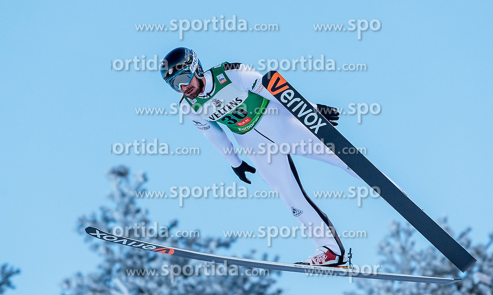 25.11.2016, Nordic Arena, Ruka, FIN, FIS Weltcup Nordische Kombination, Nordic Opening, Kuusamo, Skisprung, im Bild Taylor Fletcher (USA) // Taylor Fletcher (USA) during Skijumping of FIS Nordic Combined World Cup of the Nordic Opening at the Nordic Arena in Ruka, Finland on 2016/11/25. EXPA Pictures © 2016, PhotoCredit: EXPA/ JFK