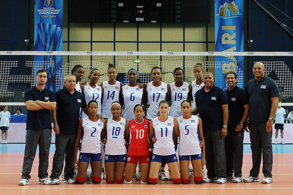 Cuba team photo