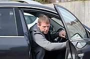GLOUCESTERSHIRE, ENGLAND – MARCH 12: Stuart Pearce makes his debut for non-league Longford AFC as part of the #directfix campaign by Direct Line. Arriving at ground