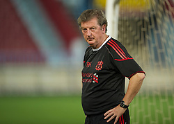 TRABZON, TURKEY - Wednesday, August 25, 2010: Liverpool's manager Roy Hodgson during training at the Huseyin Avni Aker Stadium ahead of the UEFA Europa League Play-Off 2nd Leg match against Trabzonspor A.S. (Pic by: David Rawcliffe/Propaganda)