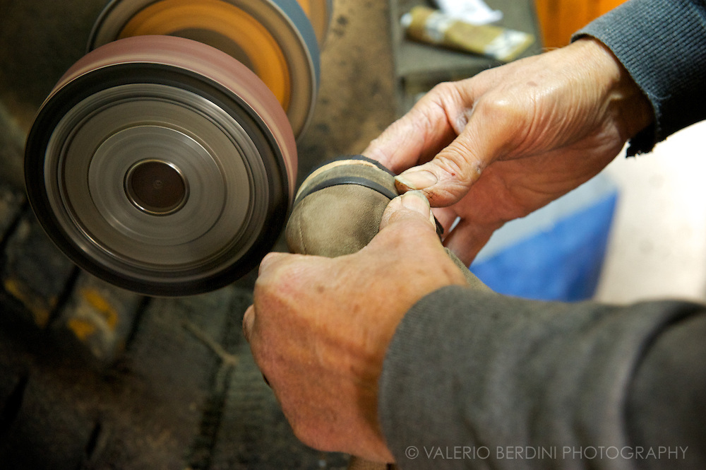 The machine hasn't broke up in 50 years. Hands still are the most important tool.