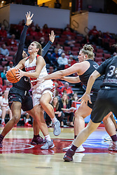 NORMAL, IL - February 27: Lexi Wallen during a college women's basketball game between the ISU Redbirds and the Bears of Missouri State February 27 2020 at Redbird Arena in Normal, IL. (Photo by Alan Look)