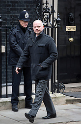 © London News Pictures. 18/03/2013 . London, UK.  British Foreign Minister William Hague leaving 10 Downing Street. Photo credit : Ben Cawthra/LNP