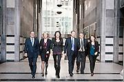 executive women and men portraits