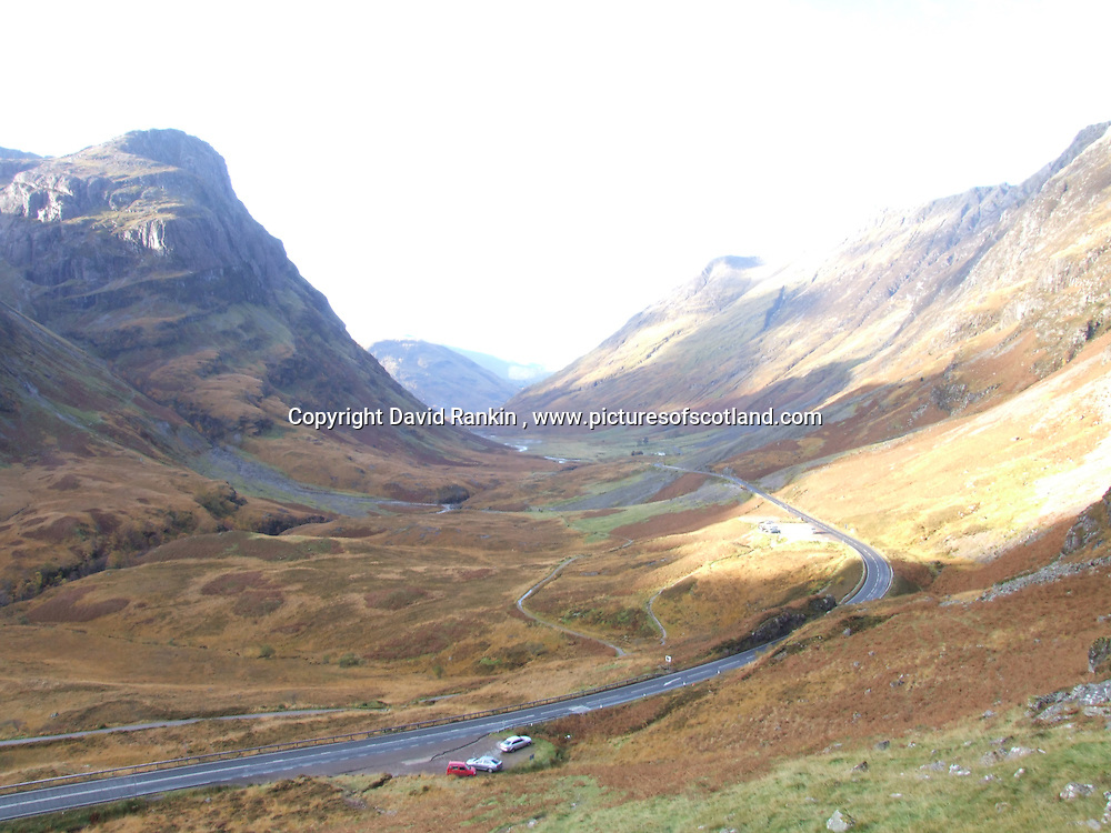 Glen Coe, the Highlands , Scotland
