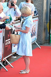 Edinburgh Film Festival, Sunday 1st July 2018<br /> <br /> SWIMMING WITH MEN (UK Premiere - Closing Night Gala)<br /> <br /> Pictured:  Jane Horrocks<br /> <br /> Alex Todd | Edinburgh Elite media