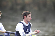 Putney, GREAT BRITAIN,    Colin SMITH 2008 OUBC President, steam's after the 4 1/4 mile trials race.  2008 Varsity/Oxford University [OUBC] Trial Eights, raced over the championship course. Putney to Mortlake, on the River Thames. Thurs. 11.08.2008 [Mandatory Credit, Peter Spurrier/Intersport-images] Varsity Boat Race, Rowing Course: River Thames, Championship course, Putney to Mortlake 4.25 Miles,