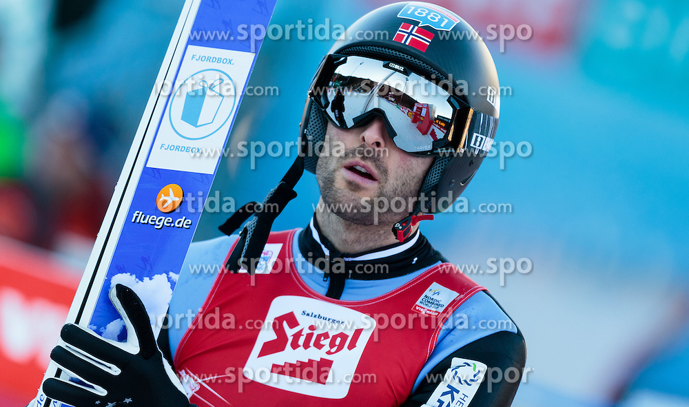 20.12.2015, Nordische Arena, Ramsau, AUT, FIS Weltcup Nordische Kombination, Skisprung, im Bild Magnus Moan H. (NOR) // Magnus Moan H. of Norway during Skijumping Competition of FIS Nordic Combined World Cup, at the Nordic Arena in Ramsau, Austria on 2015/12/20. EXPA Pictures © 2015, PhotoCredit: EXPA/ JFK