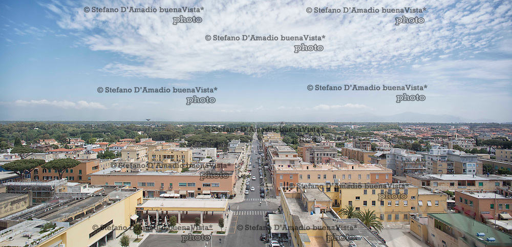 Panoramica di Sabaudia<br /> <br /> Overview of Sabaudia Latina
