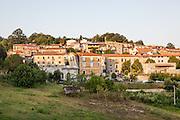 Soveria Mannelli (CZ) - Il centro storico del paese visto dallo stabilimento dello storico Lanificio Leo.