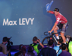 October 26, 2017 - London, England, United Kingdom - Max Levy (GER)..compete in the 200m Flying Time Trial during day three of the London Six Day Race at the  Lee Valley Velopark Velodrome on October 26, 2017 in London, England. (Credit Image: © Kieran Galvin/NurPhoto via ZUMA Press)