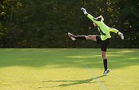 Girls Varsity Soccer Laconia versus Belmont at Robbie Mills Memorial Sports Complex.  (Karen Bobotas/for the Laconia Daily Sun)