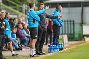 Forest Green Rovers manager, Mark Cooper during the Vanarama National League match between Forest Green Rovers and Bromley FC at the New Lawn, Forest Green, United Kingdom on 17 September 2016. Photo by Shane Healey.
