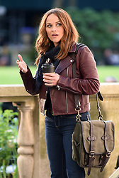 May 8, 2019 - New York, NY, USA - May 8, 2019 New York City..Reese Witherspoon was seen on location filming 'The Morning Show' on May 8, 2019 in New York City. (Credit Image: © Kristin Callahan/Ace Pictures via ZUMA Press)