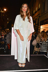 Singer LEONA LEWIS at the Quintessentially Foundation and The Crown Estate's Fayre of St.James' on 27th November 2014.  The evening started with a christmas concert at St.James's Church, Piccadilly.  Following the concert singer Leona Lewis switched on the Jermyn Street Christmas lights and then guests had a party at the newly refurbished Quaglino's, 16 Bury Street, London