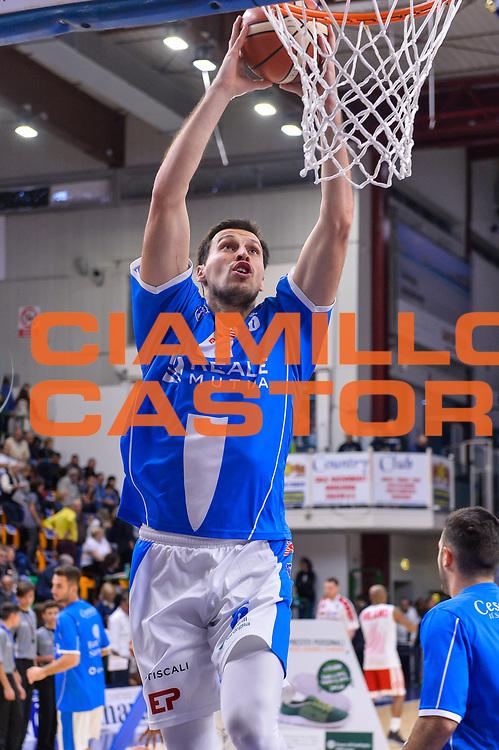 Darko Planinic<br /> Banco di Sardegna Dinamo Sassari - Olimpia EA7 Emportio Armani Milano<br /> LegaBasket LBA Poste Mobile 2017/2018<br /> Sassari, 29/10/2017<br /> Foto L.Canu / Ciamillo-Castoria