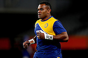 Naulia Dawai of Otago warms up prior to the Mitre 10 Competition match between Otago and Wellington at Forsyth Barr Stadium on August 25, 2016 in Dunedin, New Zealand. Credit: Joe Allison / www.Photosport.nz