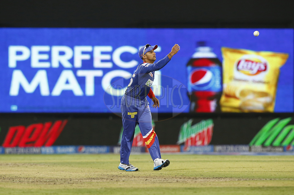 Jean-Paul Duminy of the Delhi Daredevils during match 23 of the Pepsi Indian Premier League Season 2014 between the Delhi Daredevils and the Rajasthan Royals held at the Feroze Shah Kotla cricket stadium, Delhi, India on the 3rd May  2014<br /> <br /> Photo by Deepak Malik / IPL / SPORTZPICS<br /> <br /> <br /> <br /> Image use subject to terms and conditions which can be found here:  http://sportzpics.photoshelter.com/gallery/Pepsi-IPL-Image-terms-and-conditions/G00004VW1IVJ.gB0/C0000TScjhBM6ikg