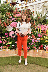 Alex Jones at the RHS Chelsea Flower Show Press Day, Royal Hospital Chelsea, London England. 22 May 2017.<br /> Photo by Dominic O'Neill/SilverHub 0203 174 1069 sales@silverhubmedia.com