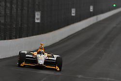 May 19, 2019 - Indianapolis, IN, U.S. - INDIANAPOLIS, IN - MAY 19: IndyCar driver Sage Karam (24) of the DRR WIX Filters Dreyer & Reinbold Racing Chevrolet drives into turn one during the practice session for the IndyCar Series 103rd Indianapolis 500 on May 19, 2019, at the Indianapolis Motor speedway in Indianapolis, Indiana. (Photo by Michael Allio/Icon Sportswire) (Credit Image: © Michael Allio/Icon SMI via ZUMA Press)