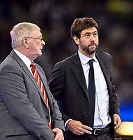 Andrea Agnelli president of Juventus during the UEFA Champions League Final match between Real Madrid and Juventus at the National Stadium of Wales, Cardiff, Wales on 3 June 2017. Photo by Giuseppe Maffia.<br /> <br /> Giuseppe Maffia/UK Sports Pics Ltd/Alterphotos