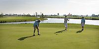 ALMKERK - Hole 14 op Golfclub Almkreek. COPYRIGHT KOEN SUYK
