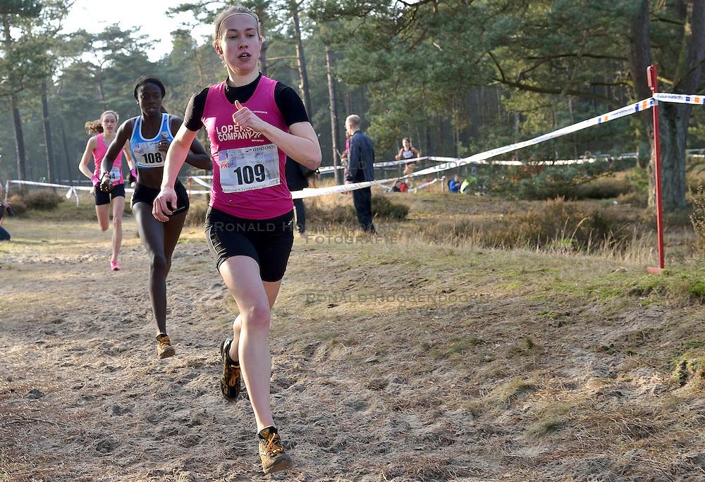 31-12-2014 NED: Rabobank Sylvestercross, Soest<br /> Irene van Lieshout