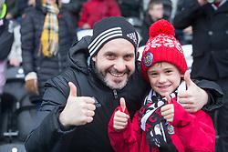 St Mirren fans during the Ladbrokes Scottish Premier League match at St Mirren Park, St Mirren.