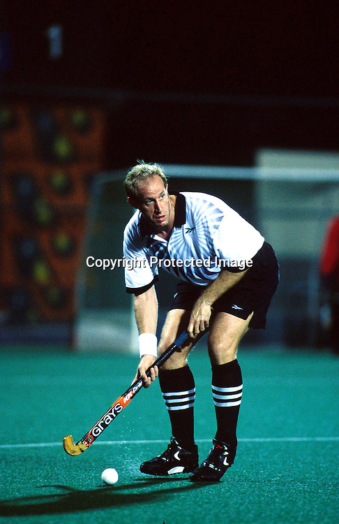 Andrew Buckley of New Zealand in action during the Commonwealth Games 1998, Kuala Lumpur Malaysia. NZ Mens Hockey. Photo: Scott Barbour/Photosport.co.nz